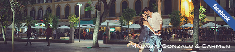 sesión de fotos en las calles del centro de Málaga, Jose Díaz fotografía de boda, fotógrafo Málaga