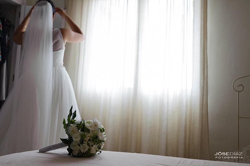 ramo de novia multicolor, ramos de novia, reportaje de boda, boda, fotografía de boda, fotógrafo Málaga