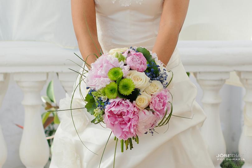 fotografía artística de boda, ramo de novia original