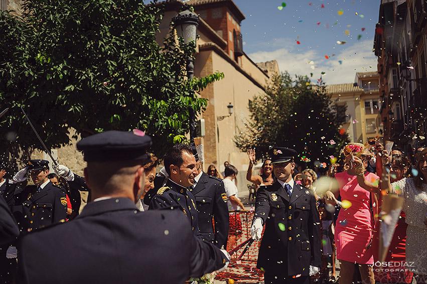 fotografía de bodas en Granada, Iglesia San Justo y Pastor