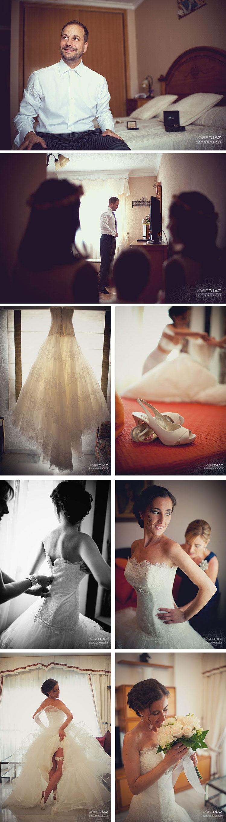 reportaje de boda Málaga, Jose Díaz fotos boda artísticas
