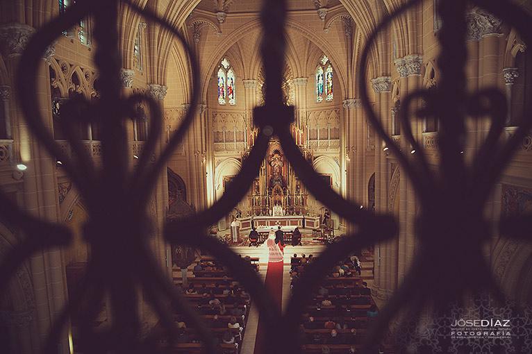 fotos boda sagrado Corazón, Iglesia Sagrado Corazón de Málaga
