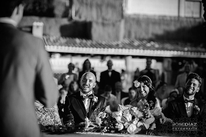 momentos de boda, ceremonia de boda al aire libre, fotografía de boda Málaga, fotógrafos de Málaga, fotografía profesional Málaga