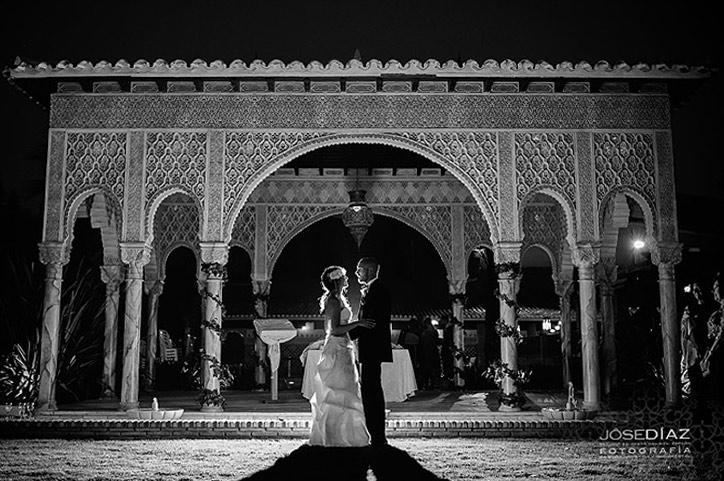 fotografía de boda artística, fotógrafo Jose Díaz, reportaje de boda Málaga, fotos originales de boda.