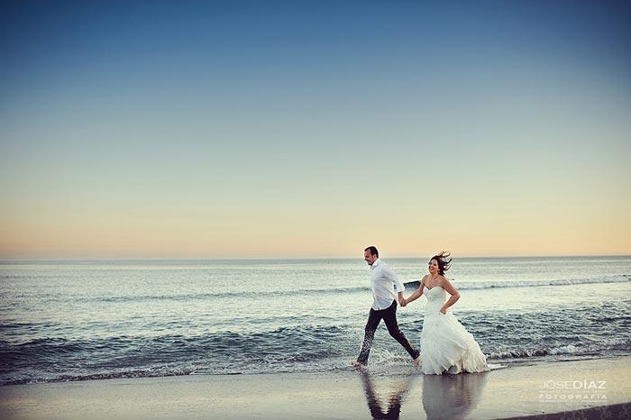 fotografías pos-boda en Marbella, realizadas por el fotógrafo de boda Jose Díaz, Málaga.