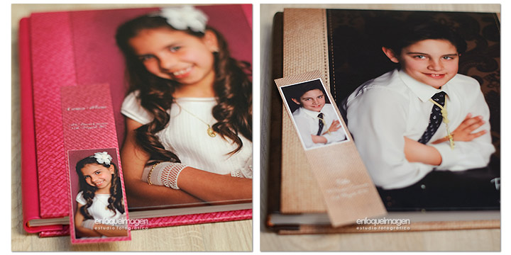 accesorios para album comunion, fotografia malaga, book comunion