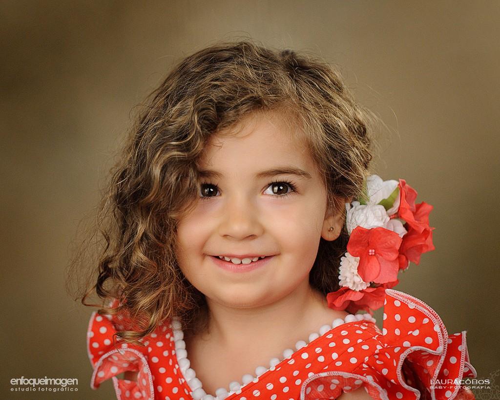 fotografia infantil, fotos de flamenca