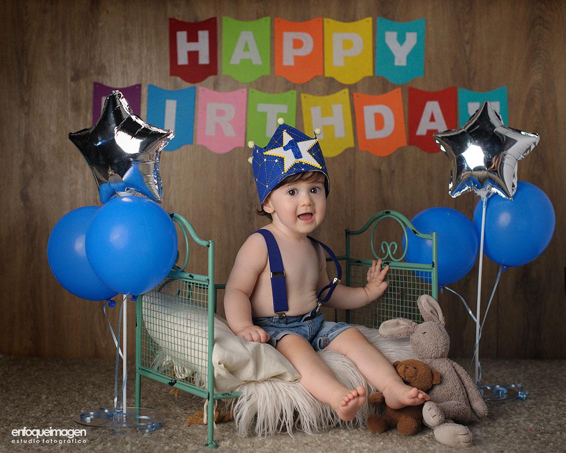 fotografía infantil, smash cake, fotografías de bebé, fotógrafos málaga, fotos recién nacido