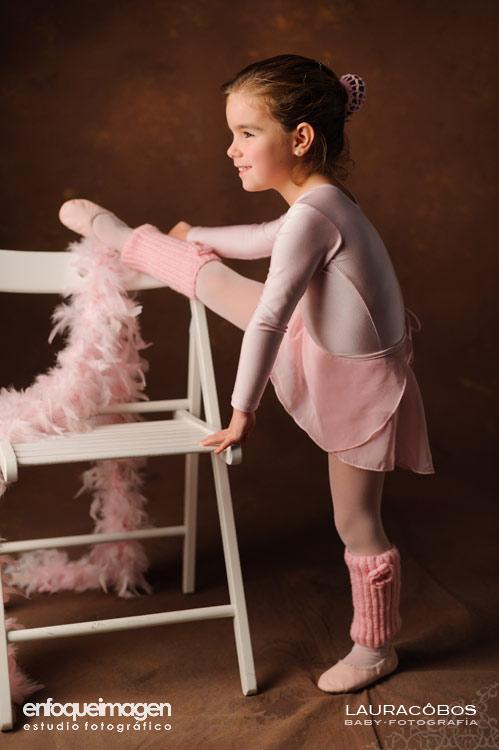 reportaje infantil, estudio fotográfico Málaga, reportajes infantiles, sesión de fotos, vestido bailarina, fotos ballet, fotógrafos Málaga