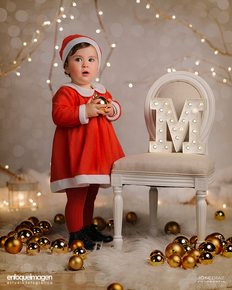christmas portrait, baby photgraphy, photographer costa del sol