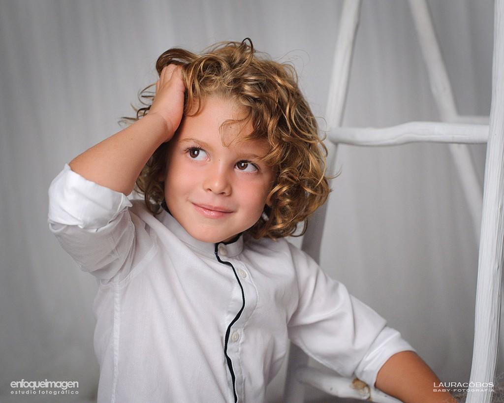 fotografía infantil, reportaje infantil, sesión de estudio