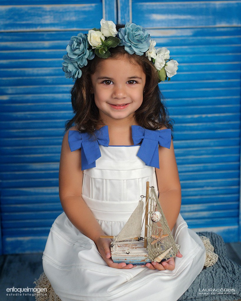 fotos de niña, reportaje infantil, sesión fotográfica de estudio