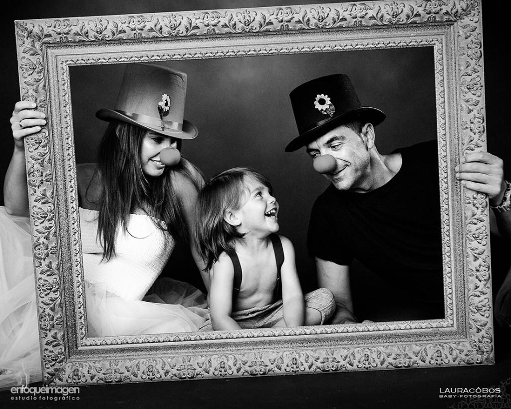 fotografías familia, reportaje en estudio, fotografía artística