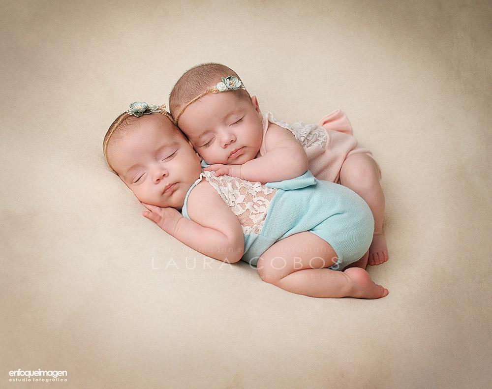 Fotografia bebés mellizos