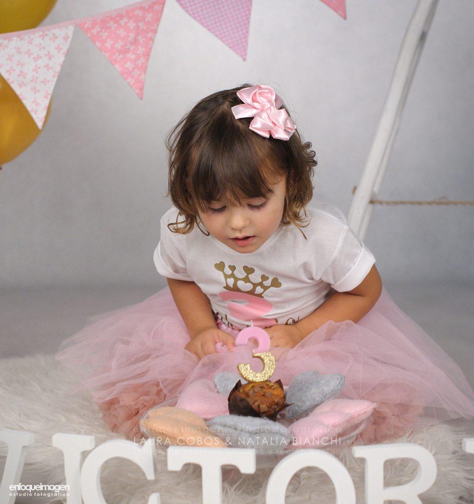 vestido princesa cumpleaños, fiesta cumpleaños, fotos infantil, reportaje fotográfico niños