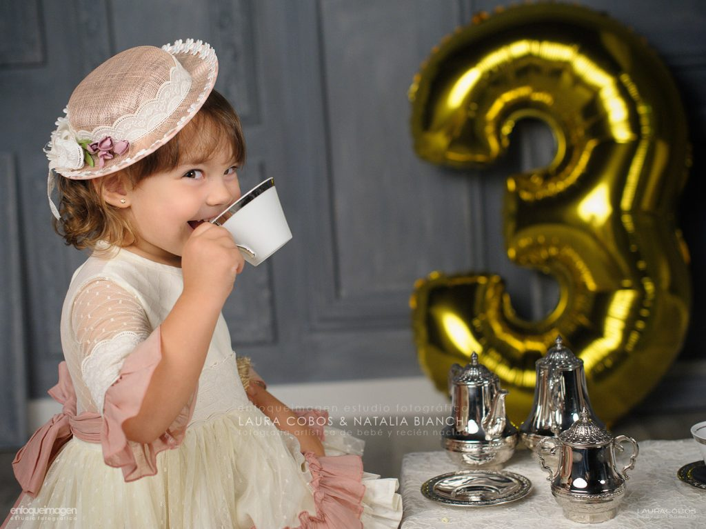 fiesta de cumpleaños infantil, fotografo estudio, fotógrafa málaga, laura cobos